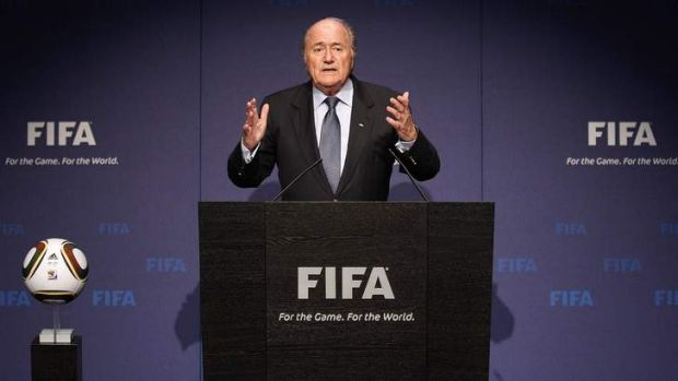 """If the referee does not see unsporting conduct ... during the course of a match, we can come back to it later"": Sepp ..."
