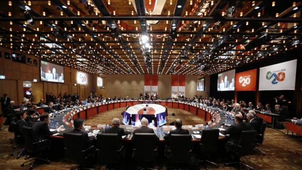G20 finance ministers and central bank governors begin their annual meeting in Sydney.