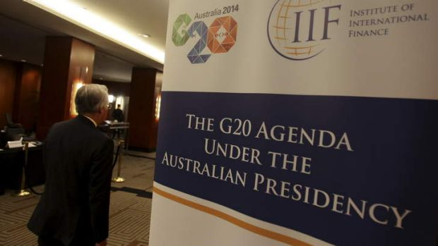 Turning off the tap: The G20 meeting will discuss the pace of the Fed's withdrawal of stimulus.