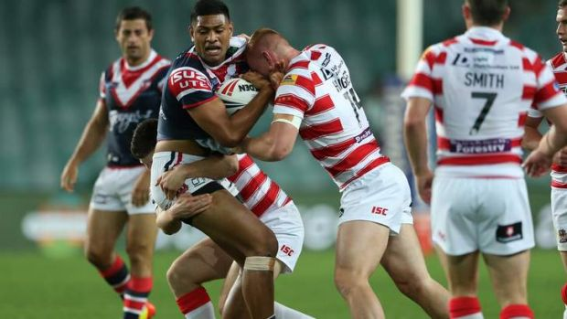Roaring success: the World Club Challenge again delivered on its promise.