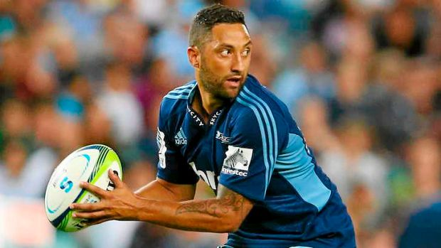 Debut cameo: Benji Marshall was solid for the Blues.