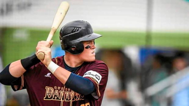 Happy birthday: Brisbane teenager Jack Barrie signed a lucrative deal with the Minnesota Twins on his 18th birthday.