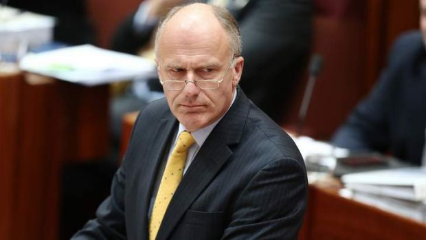 The office of Eric Abetz would not rule out the 0 per cent position.