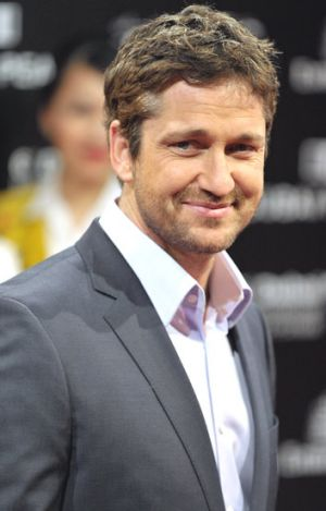 Headed to Sydney for filming: Gerard Butler.