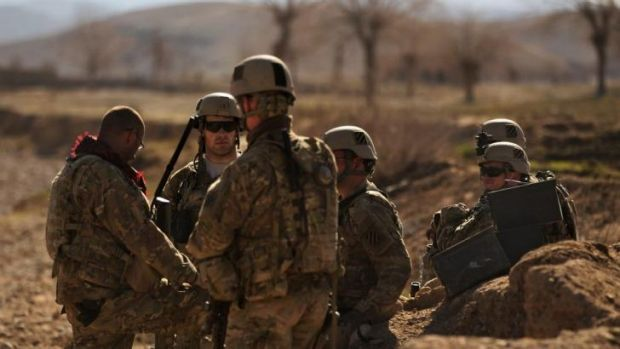 US soldiers on patrol in Afghanistan: the Asia-Pacific pivot has changed US Army priorities.