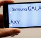 A new Samsung Galaxy S5 smartphone is displayed at the Mobile World Congress in Barcelona February 23, 2014. Samsung ...
