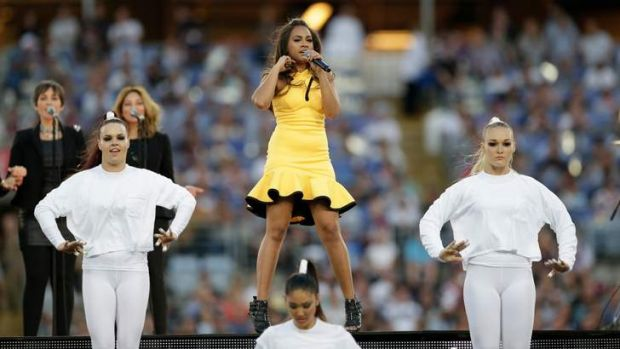 Here to stay:  Singer Jessica Mauboy.