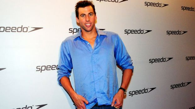 Grant Hackett: the former Olympic swimmer denies he's going to rehab.