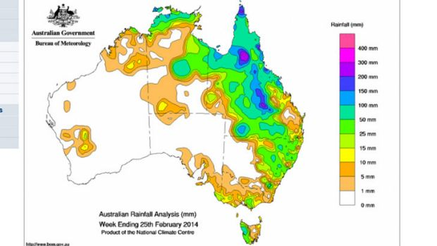 Good rain over the past week eased drought conditions for northern NSW and inland Queensland.