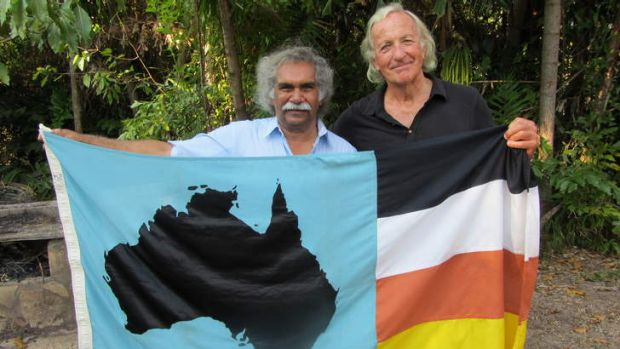 John Pilger (right) hopes to change minds with <em>Utopia</em>.