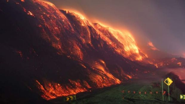 This is the challenge facing firefighters battling the Hazelwood coal mine blaze and increasingly frightened residents ...