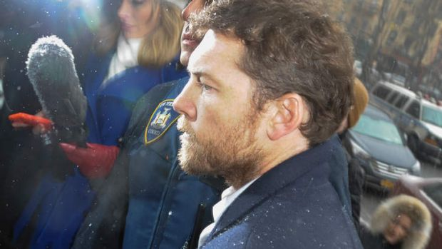 Sam Worthington: appeared in court in New York.