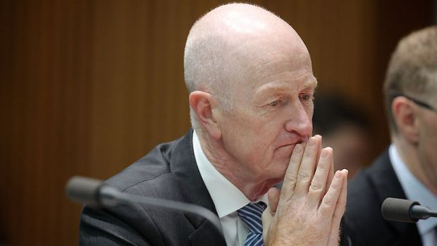 RBA governor Glenn Stevens ... what will the central bank do after the release of weaker-than-expected business ...
