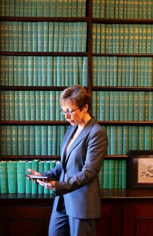 Women on the bench: Senior NSW judge Ruth McColl.