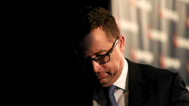 Qantas chief Alan Joyce breaks the bad news.