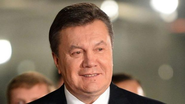 Residing in Russia ... Deposed Ukrainian president Viktor Yanukovych broke five days of silence to declare himself to ...