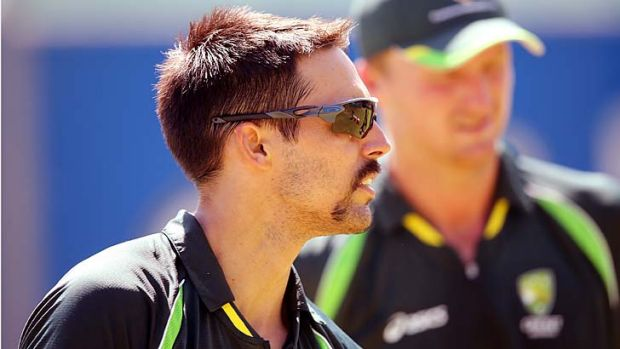 Mitchell Johnson at Newlands Stadium.