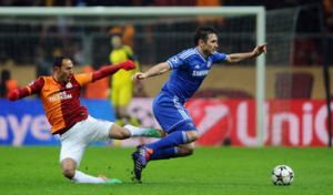 Tough ask: Chelsea's Frank Lampard, pictured during Wednesday's Champions League draw with Galatasaray, says a hectic ...