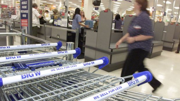 Woolworths' Big W business is struggling to grow.