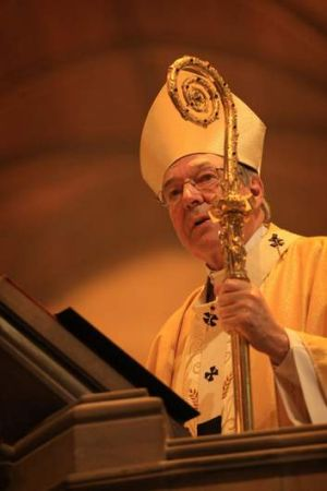 Outsider: George Pell.