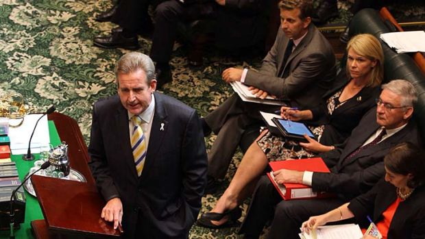 Signalling a shake-up: The O'Farrell government is expected to continue system reform.