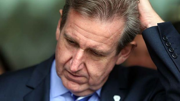 Ups and downs: Election of a Coalition federal government is said to be affecting the popularity of the O'Farrell government.