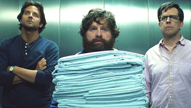 Not again: <em>The Hangover III</em> is up for worst remake, ripoff or sequel.