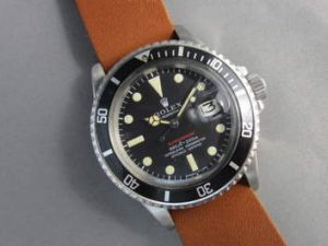 A Rolex Submariner Reference 1680 Mark IV Dial (c.1970).
