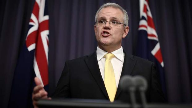 Tight-lipped on spending: Scott Morrison.