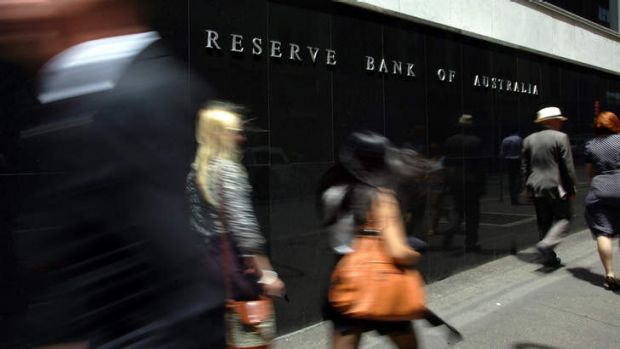 Steady as she goes: the Reserve Bank of Australia headquarters in Sydney.