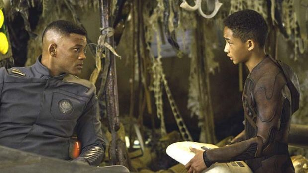 Worst Screen Combo: Will Smith and Jaden Smith in <em>After Earth</em>.