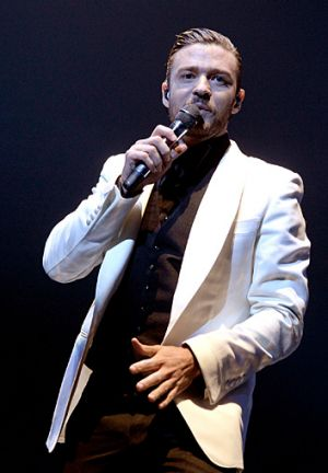 Snappy dresser ... Justin Timberlake to bring <i>20/20 Experience</i> to Australia.