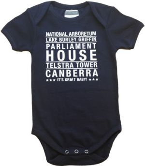 For Prince George... as a memento of his first trip to Canberra.