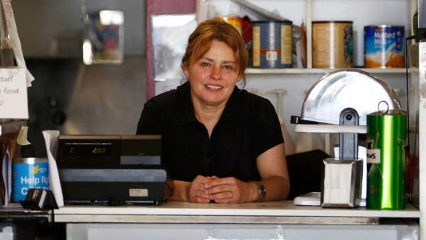 Claudia Davies, owner of Claudia's Cafe in Morwell.