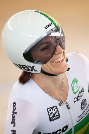 Happy: Anna Meares, two silvers and a bronze.