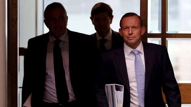 'You need governments to stand between innocent citizens and greed machines ... but Tony Abbott's is removing ...