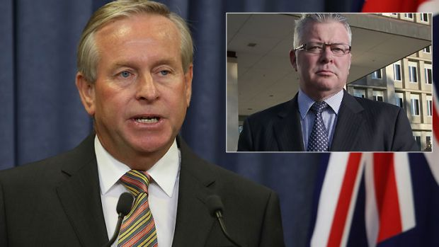 WA Premier Colin Barnett has taken over Treasurer Troy Buswell's portfolios while Mr Buswell takes personal leave.