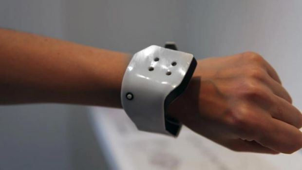 The Scent Rhythm watch, in development, would release a variety of smells in cycle with your circadian rhythms.