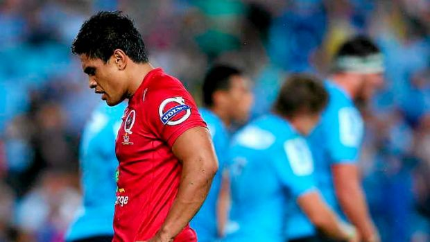 Benched: Reds coach Richard Graham has dropped Ben Tapuai to the bench.