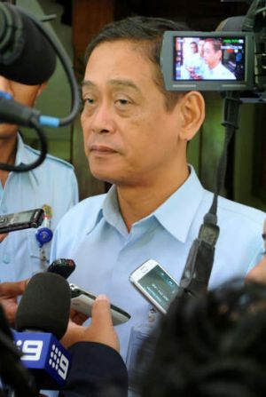 Head of the corrections division of the Bali Justice Office, Sunar Agus, was visiting Corby at the time of the incident.