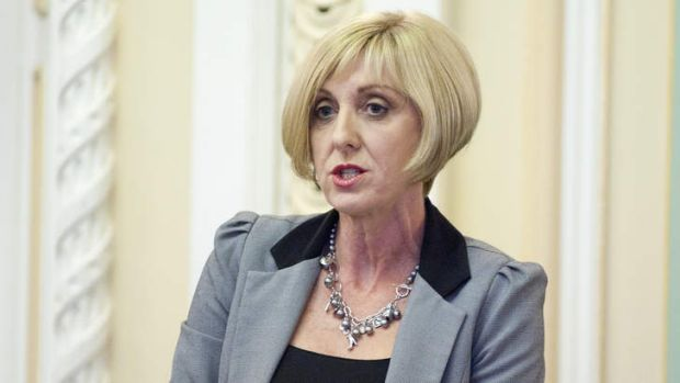 Child Safety and Disability Services Minister Tracy Davis has hit back at claims disability support staff are suffering ...