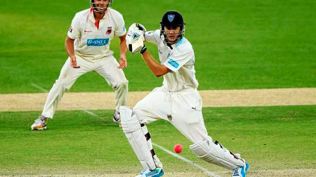 Kurtis Patterson top scored for NSW on day two with 81.