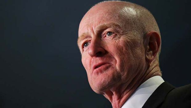 Stop the scaremongering: The Reserve Bank and governor Glenn Stevens noted slow but steady growth in the economy across ...
