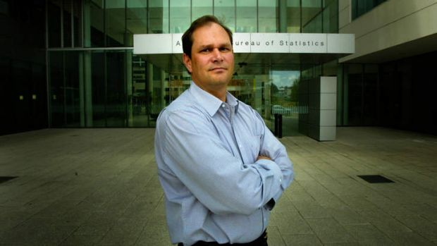 More jobs need to go ... acting Chief Statistician Jonathan Palmer.