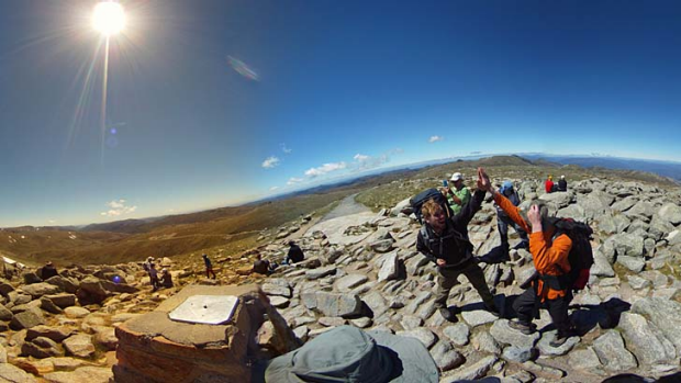 Top of Mt Kosciuszko.