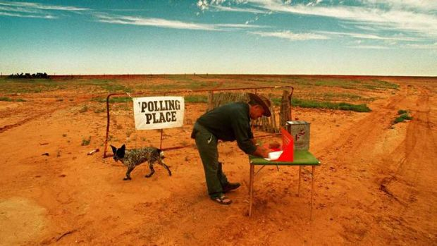 Getting out to vote takes on a new context in the far west.