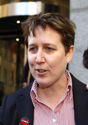 Sally McManus ... Canberra staff aren't willing to take the risk of accepting a pay out.