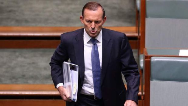 """Prime Minister Tony Abbott says his government isn't interested in """"picking unnecessary fights"""" on media laws. Photo: ..."""