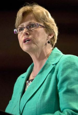 """Labor rethink your strategy"": Greens leader Christine Milne."