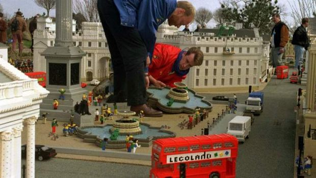 Big trouble in little world: Legoland, west of London, will close this weekend after threats.